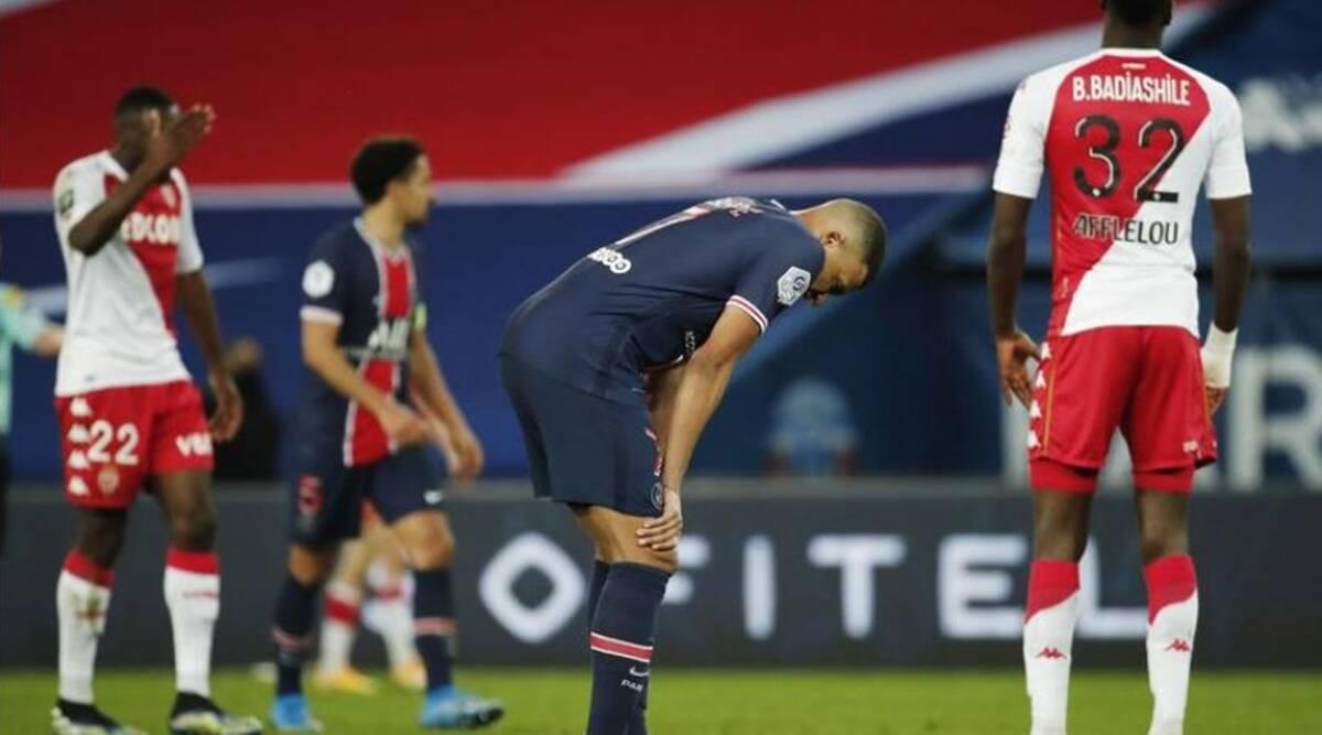 El PSG de Mauricio Pochettino se queda atrás en la carrera por el título con la derrota ante el AS Mónaco