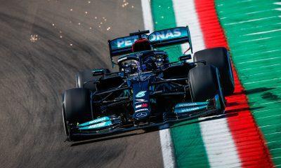 Calificación: Hamilton en la pole y Pérez vence a Verstappen