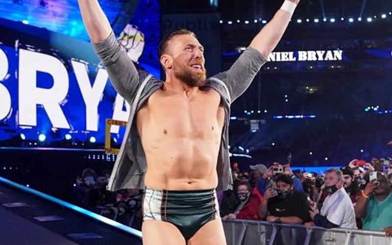 Daniel Bryan se sintió 'separado' durante el evento principal de WrestleMania