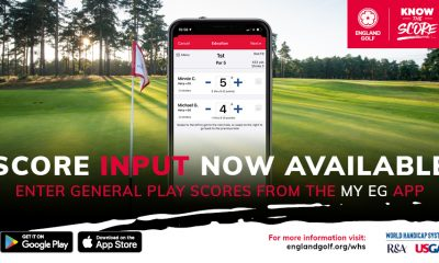 England Golf actualiza la aplicación de puntuación - Golf News |  Revista de golf