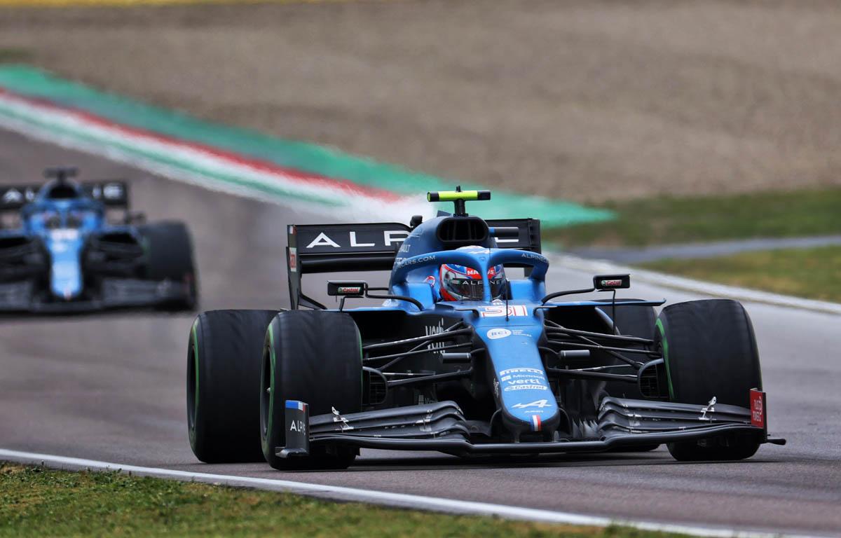 Esteban Ocon satisfecho con los puntos tras impresionante fin de semana en Imola