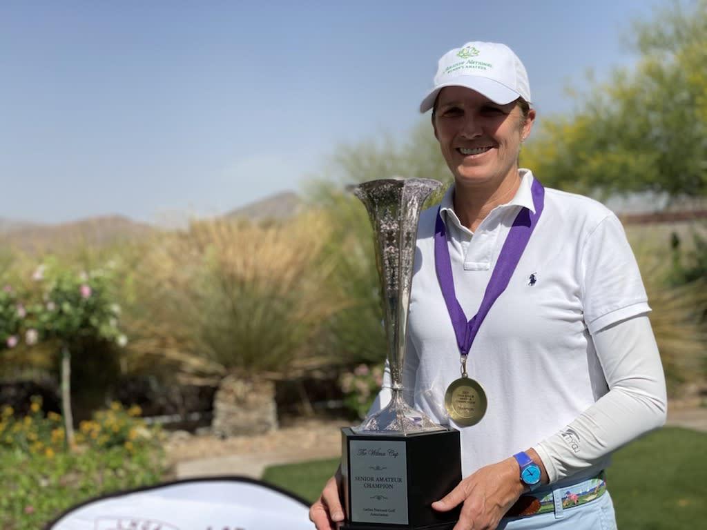 La capitana de la US Curtis Cup, Sarah Ingram, vuelve al círculo de ganadores con el título inaugural de la LNGA Senior Amateur