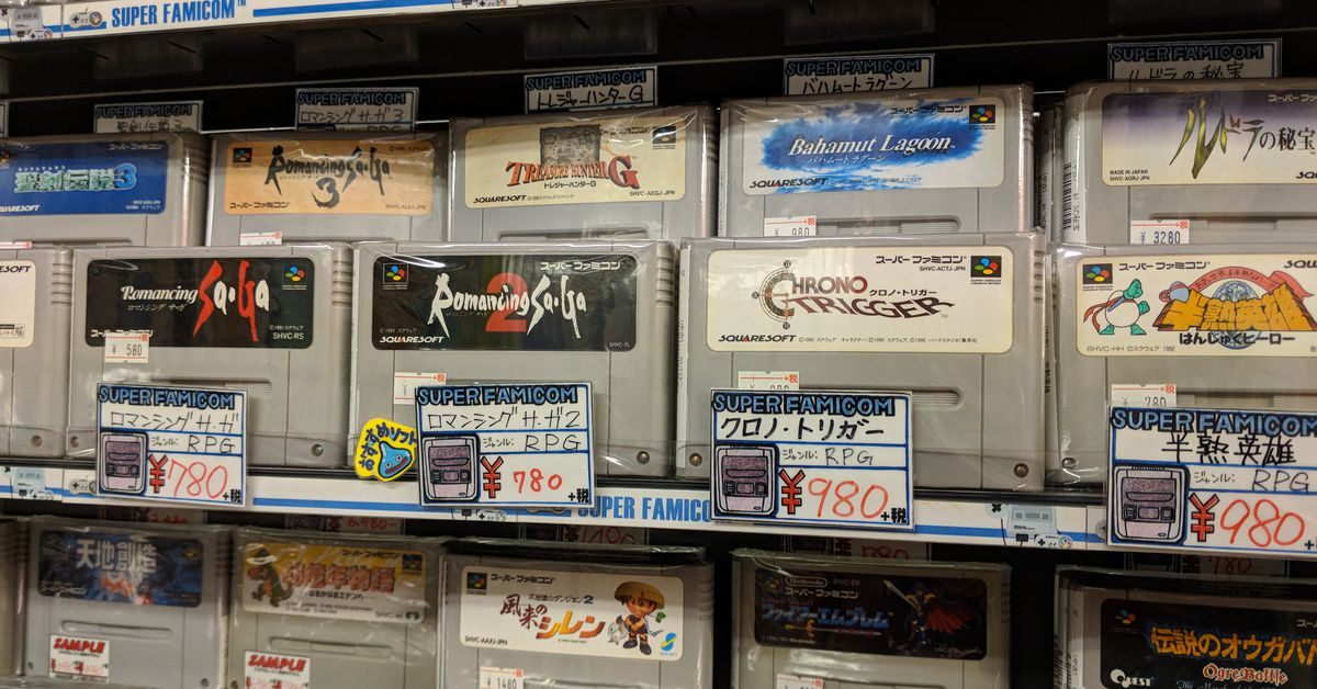 La querida tienda de juegos japonesa Super Potato ha abierto una tienda en eBay