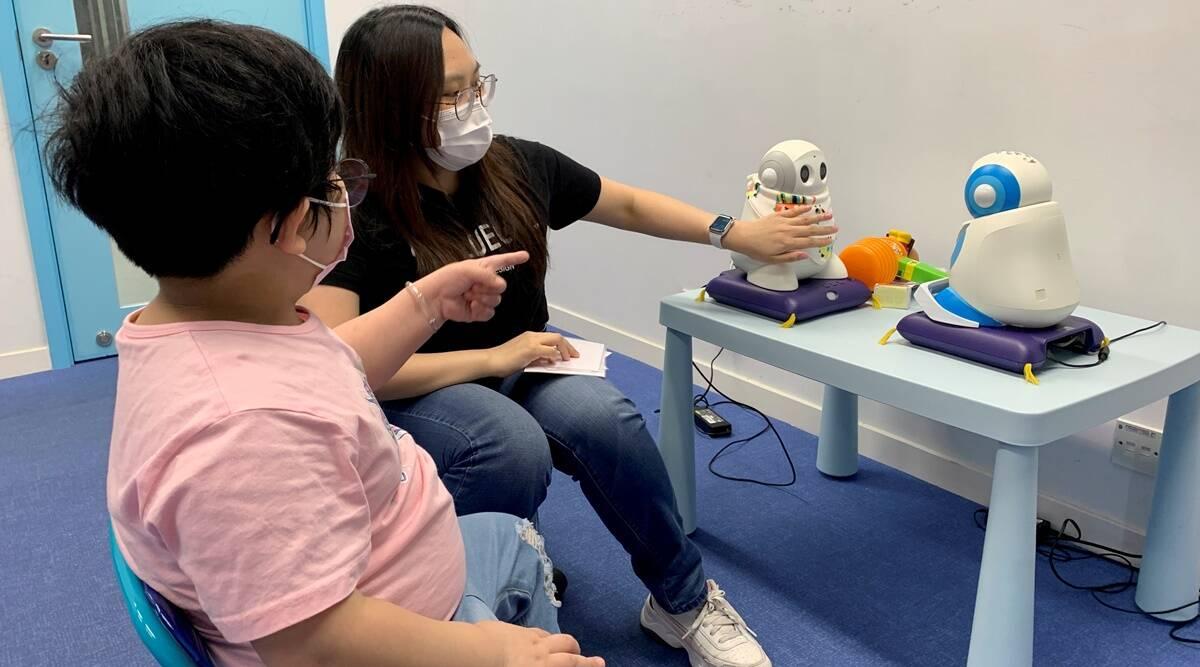 Los robots de Hong Kong ayudan a los niños autistas a mejorar sus habilidades sociales