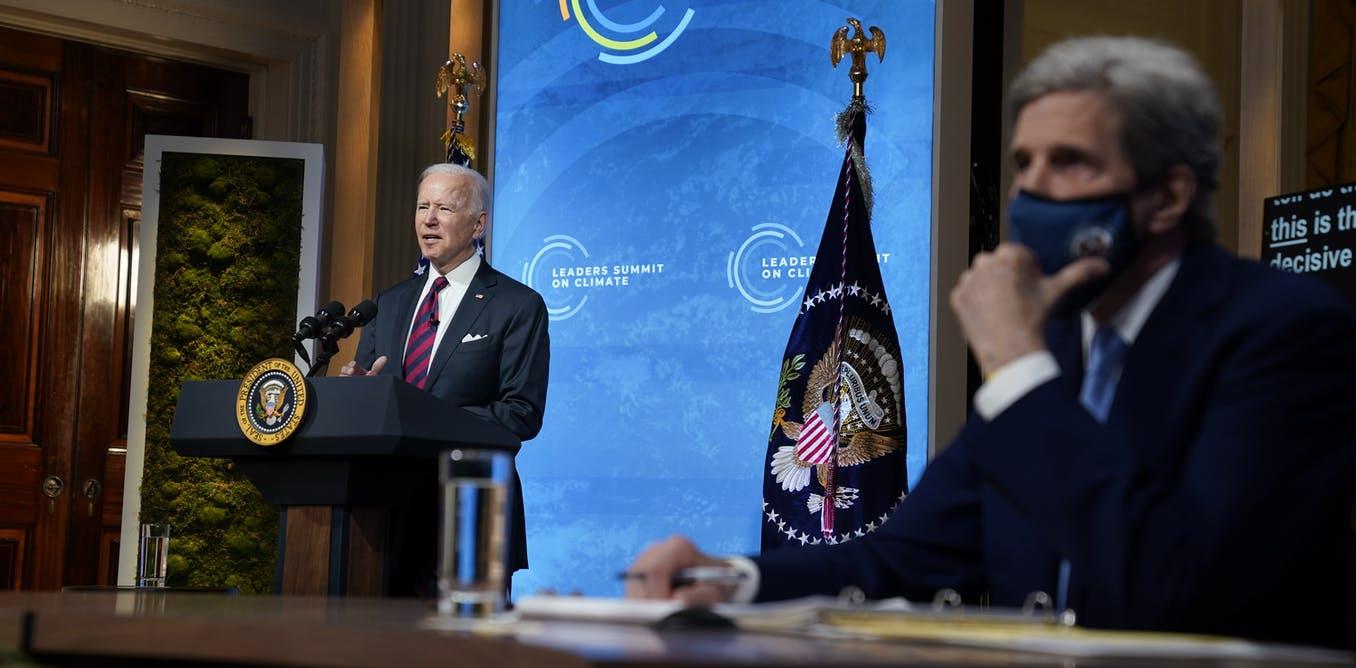 Nueva promesa climática de EE. UU .: Reducir las emisiones en un 50% esta década, pero ¿puede Biden hacer que suceda?
