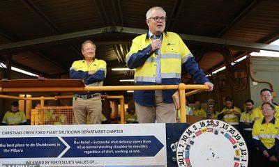 Se le preguntó a Morrison si Forrest, quien en repetidas ocasiones ha pedido un alivio de las tensiones entre los dos países, podría ayudar al gobierno federal a reparar la relación.
