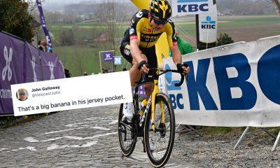 Tweets de la semana: el regreso de Cavendish, el blues post-Flanders de Emma Norsgaard y el banana de Wout van Aert