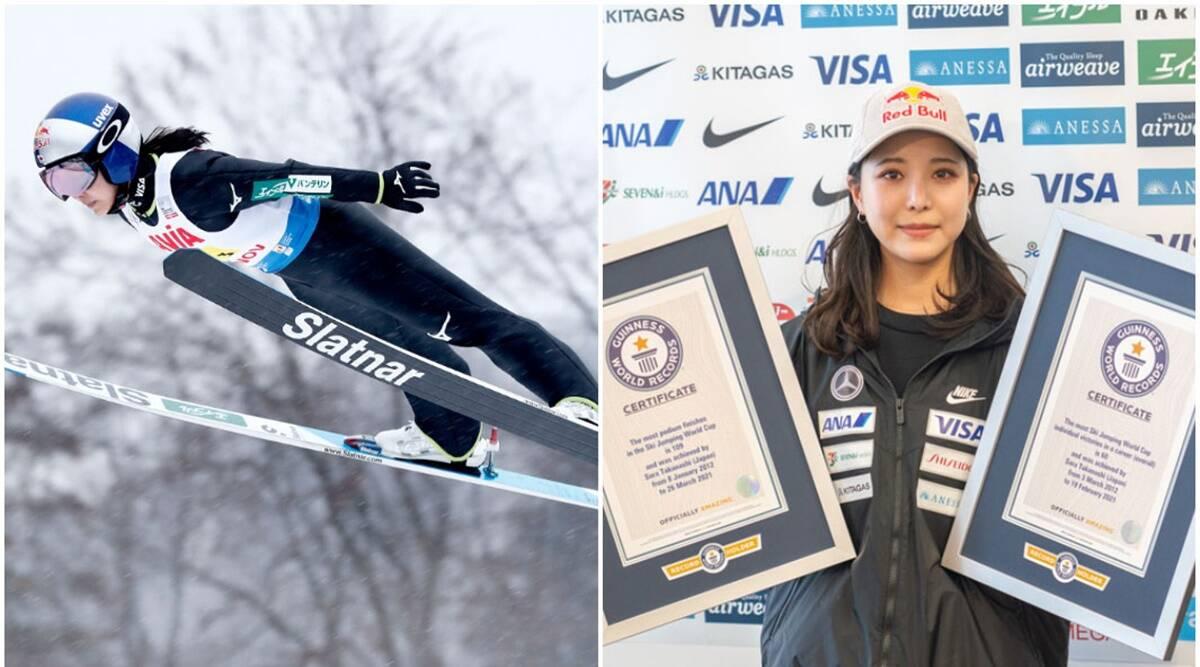 ski jumping, ski jumping records, guinness records, guinness book of world records, ski jumping japan, japan records, indianexpress.com, indianexpress,