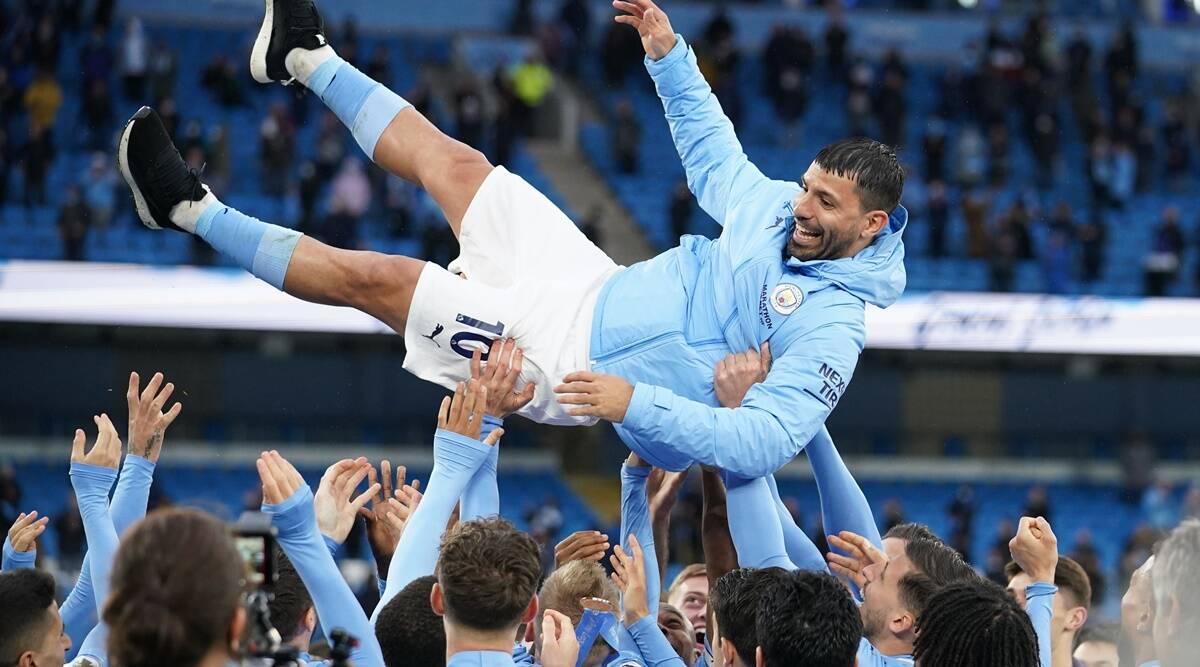 184 goles y fuera cuando Agüero se despide de la Premier League