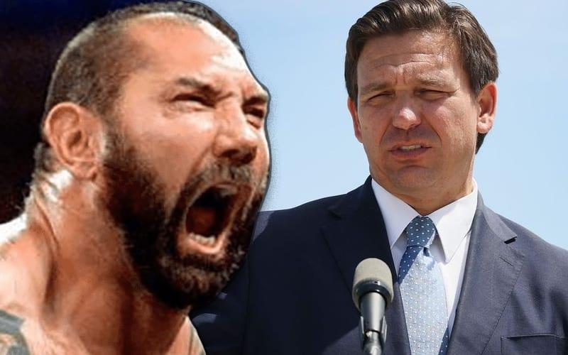 Batista reprende al gobernador de Florida, Ron DeSantis, por costarle la vida a las personas