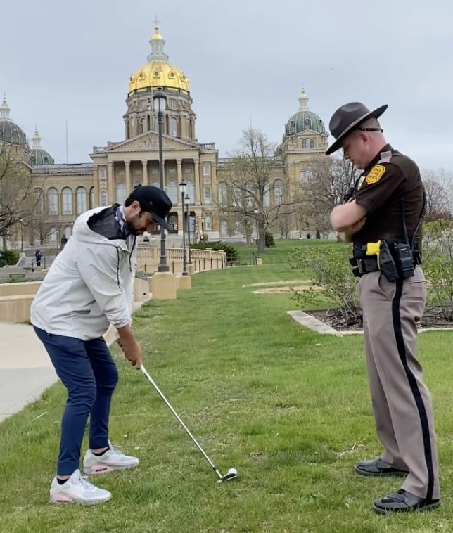Cincuenta estados, 50 tiros de golf, 30 días: una odisea de golf a nivel nacional