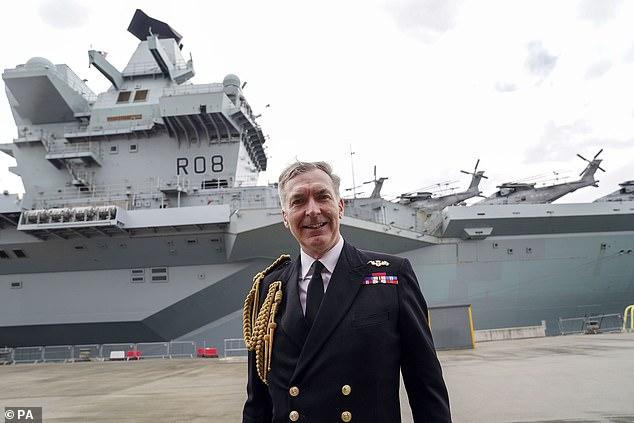 El almirante Tony Radakin ha sido criticado después de describir a China y Rusia como