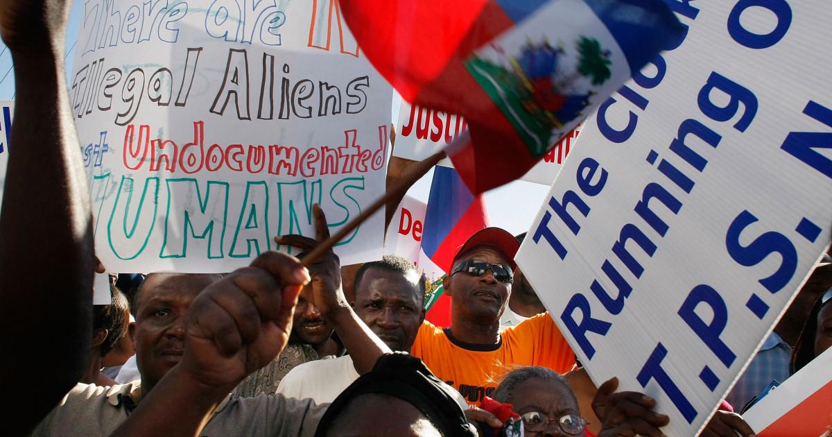 Estados Unidos extenderá la protección temporal contra la deportación a los haitianos