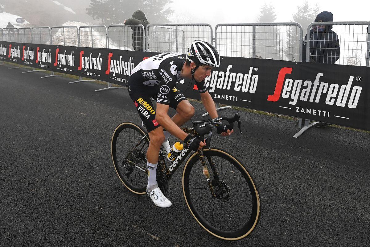 George Bennett subió a Zoncolan dos veces para agradecer a Edoardo Affini por 'llevar la escapada' en la etapa 14 del Giro de Italia