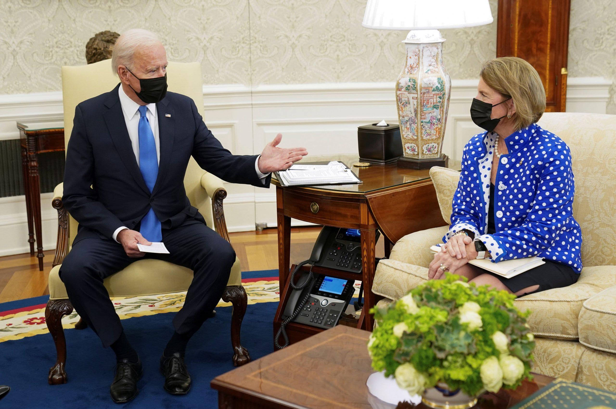 La próxima semana será una prueba importante en la búsqueda de Biden de un acuerdo de infraestructura bipartidista.