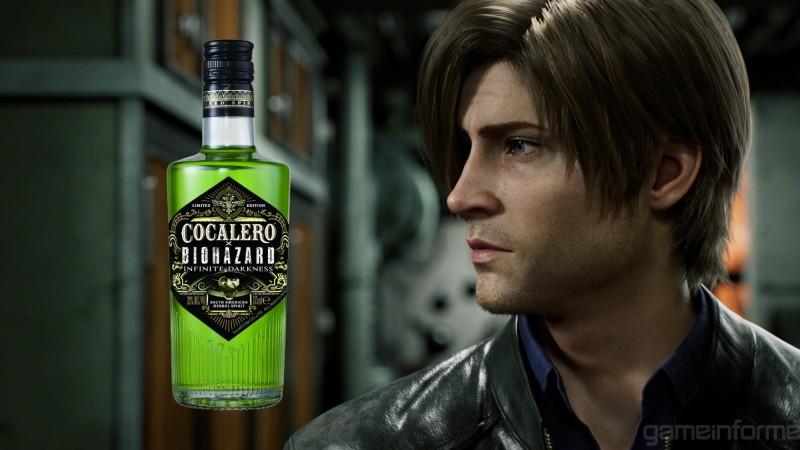 La serie de televisión Resident Evil de Netflix, Infinite Darkness, obtiene su propia línea de bebidas