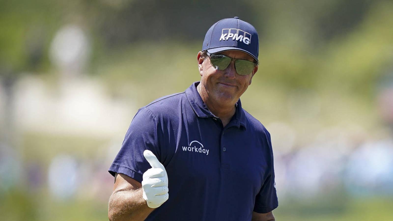 Phil Mickelson hace historia con su victoria en el PGA Championship