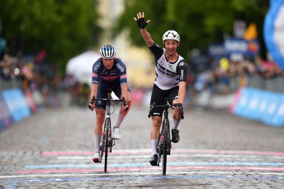Victor Campenaerts gana la primera etapa del Gran Tour desde la escapada en la etapa 15 del Giro de Italia