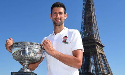 Abierto de Francia hecho y desempolvado, Novak Djokovic en camino al calendario Slam