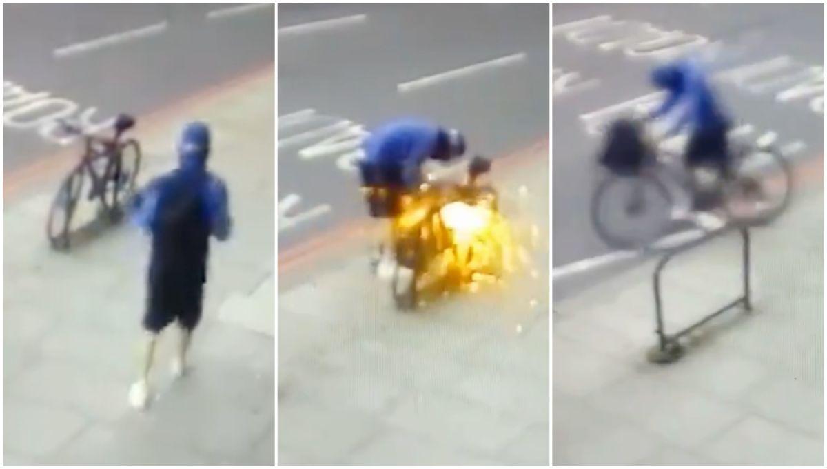 Advertencia de la aseguradora porque los robos de bicicletas siguen aumentando desde el inicio de la pandemia