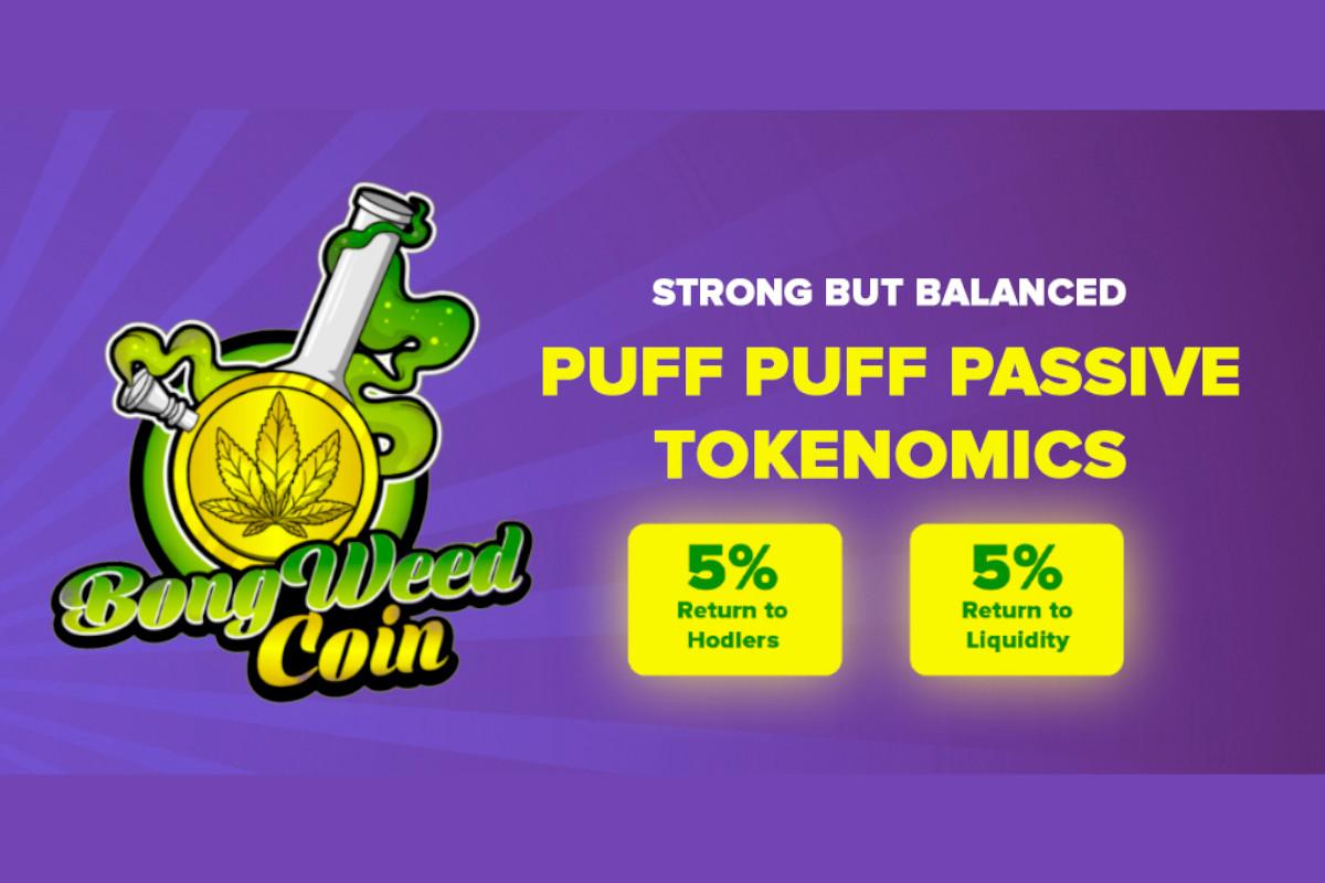 BONGWEEDCOIN - Creciente token DeFi - Movimiento mundial de legalización del cannabis