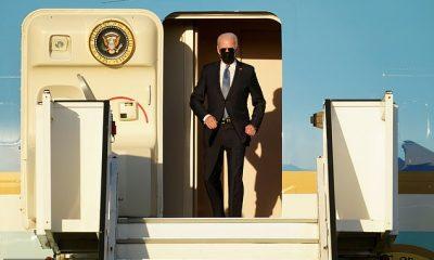 Joe Biden aterrizó en Bruselas el domingo por la noche mientras continúa su primer viaje al extranjero como presidente.