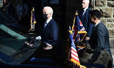 El presidente Joe Biden y su equipo han estado presionando por una declaración contundente sobre los derechos humanos en China en la cumbre del G7.  No era seguro el domingo que un comunicado final mencionaría a China por su nombre, aunque un alto funcionario dijo que había `` unanimidad en términos de la voluntad de denunciar los abusos de los derechos humanos y las violaciones de las libertades fundamentales ''.
