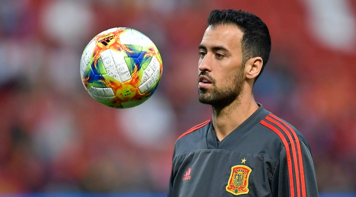Busquets da positivo, se perderá el primer partido de España en la Eurocopa
