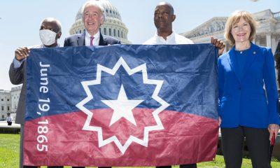 Cámara de Representantes aprueba proyecto de ley para hacer de June 19th un feriado federal y lo envía a Biden