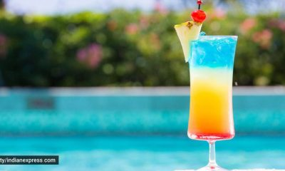 summer drinks, refreshing summer drink recipes, Pride Month, Pride Month mocktail, making mocktail with fruits, Pride Month special drink, indian express news
