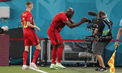 Romelu Lukaku dedicó su primer partido con Bélgica a su compañero de equipo Christian Eriksen