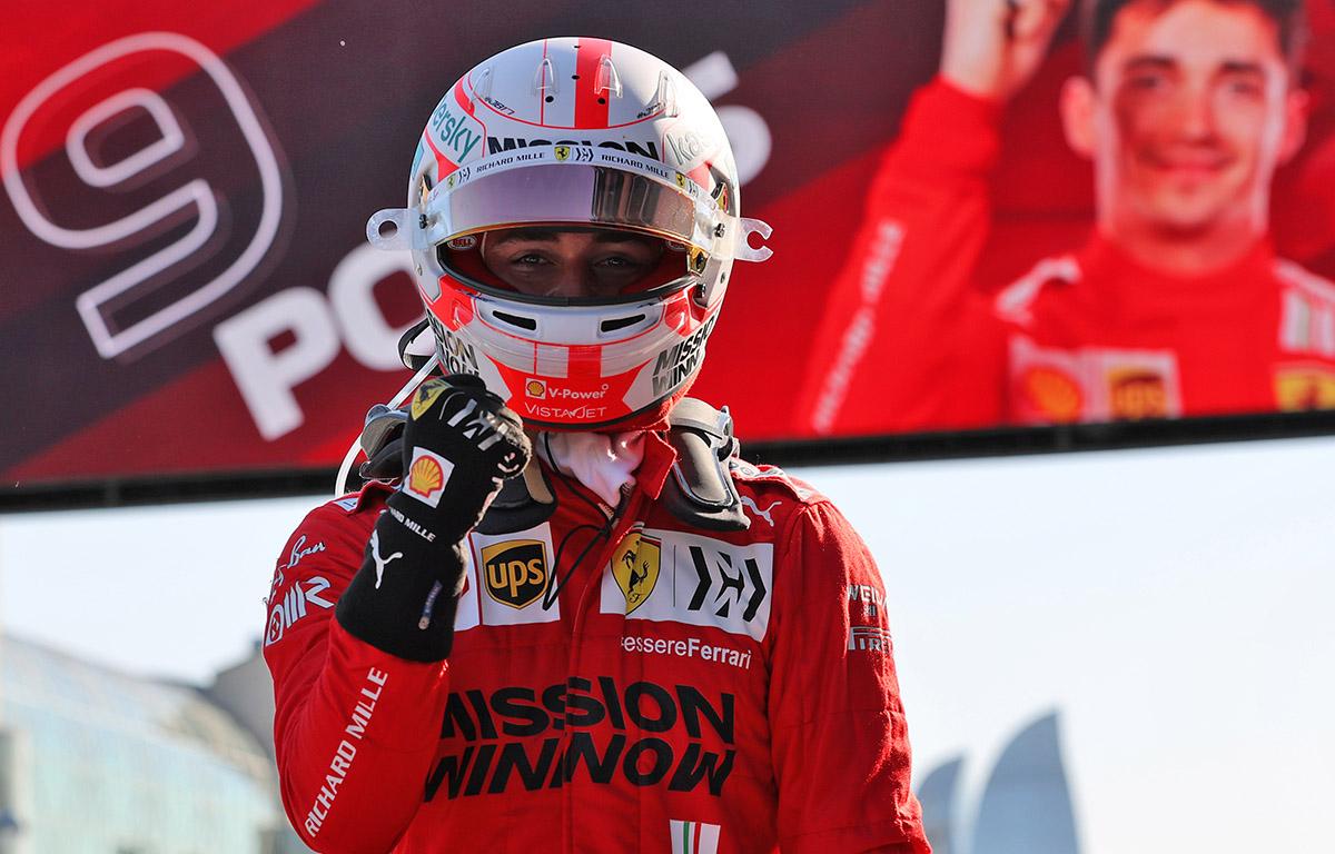 Clasificación: Charles Leclerc consigue una impresionante pole para el GP de Azerbaiyán