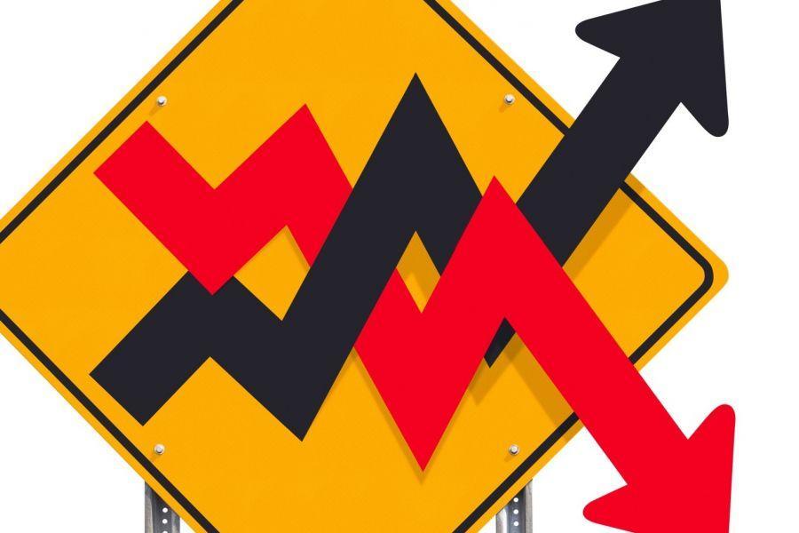 Cómo el índice de volatilidad de las criptomonedas se da cuenta del alza en las caídas del mercado