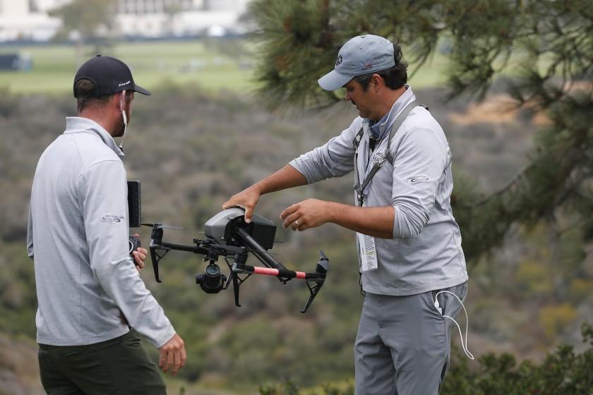 Cómo los drones ayudarán a capturar todos los ángulos del US Open en Torrey Pines