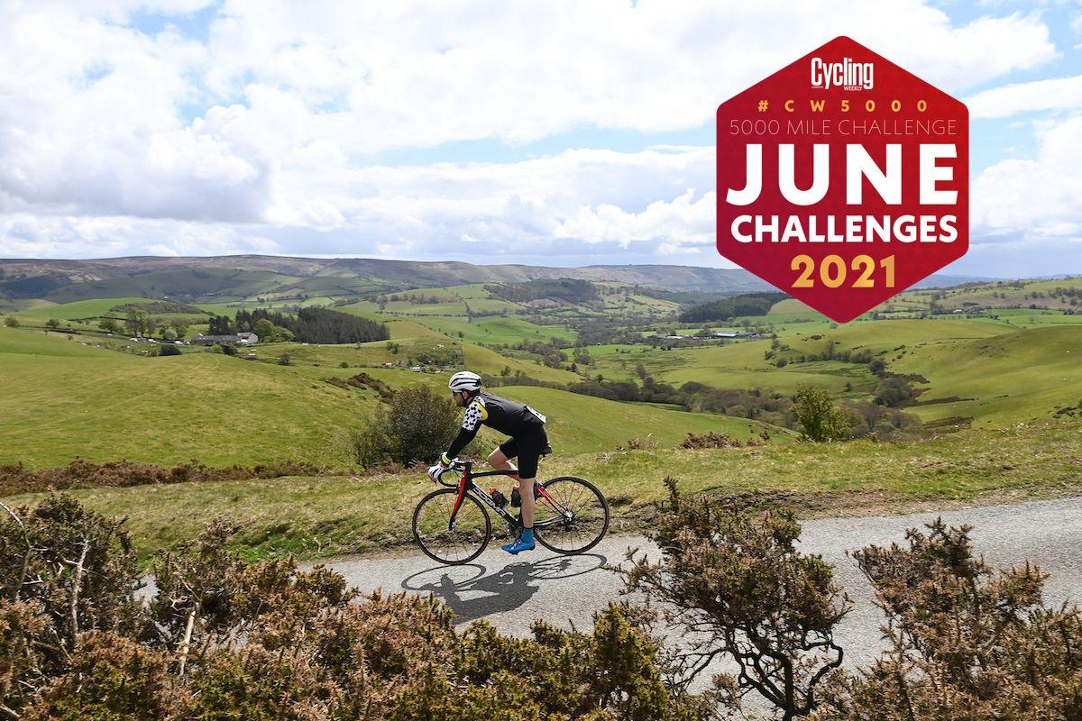 Desafíos de junio de CW5000    Ciclismo semanal