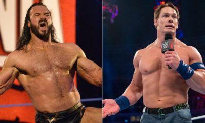 Drew McIntyre sigue presionando para luchar contra John Cena