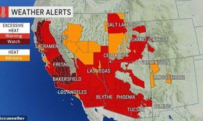 Se espera que la ola de calor del suroeste continúe con un calor peligroso esta semana