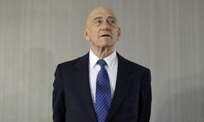 Ehud Olmert, quien se desempeñó como primer ministro de Israel entre 2006 y 2009, aparece en febrero de 2020. El martes se le preguntó al líder israelí sobre los controvertidos comentarios que hizo mi congresista de Minnesota Ilhan Omar, haciendo comparaciones entre Israel, Hamas, Estados Unidos y los talibanes.