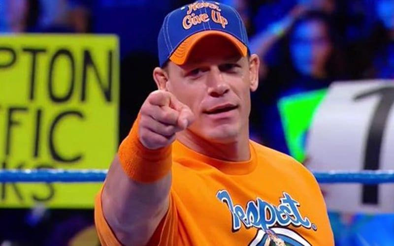 El horario de John Cena se está liberando para el regreso de WWE