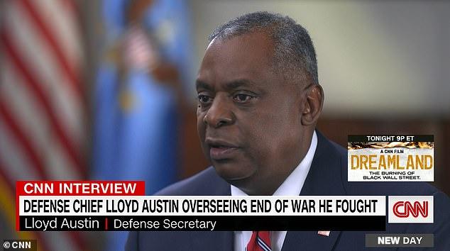 El secretario de Defensa, Lloyd Austin, usó una entrevista del Día de los Caídos para contraatacar la afirmación de Ted Cruz de que el ejército de los EE. UU. Se está volviendo 'despertado' y los soldados se están convirtiendo en 'pensamientos'