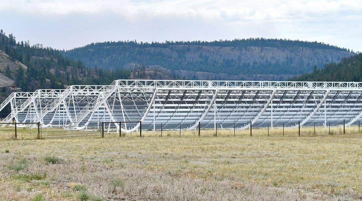 CHIME telescope processes 7 terabits per second