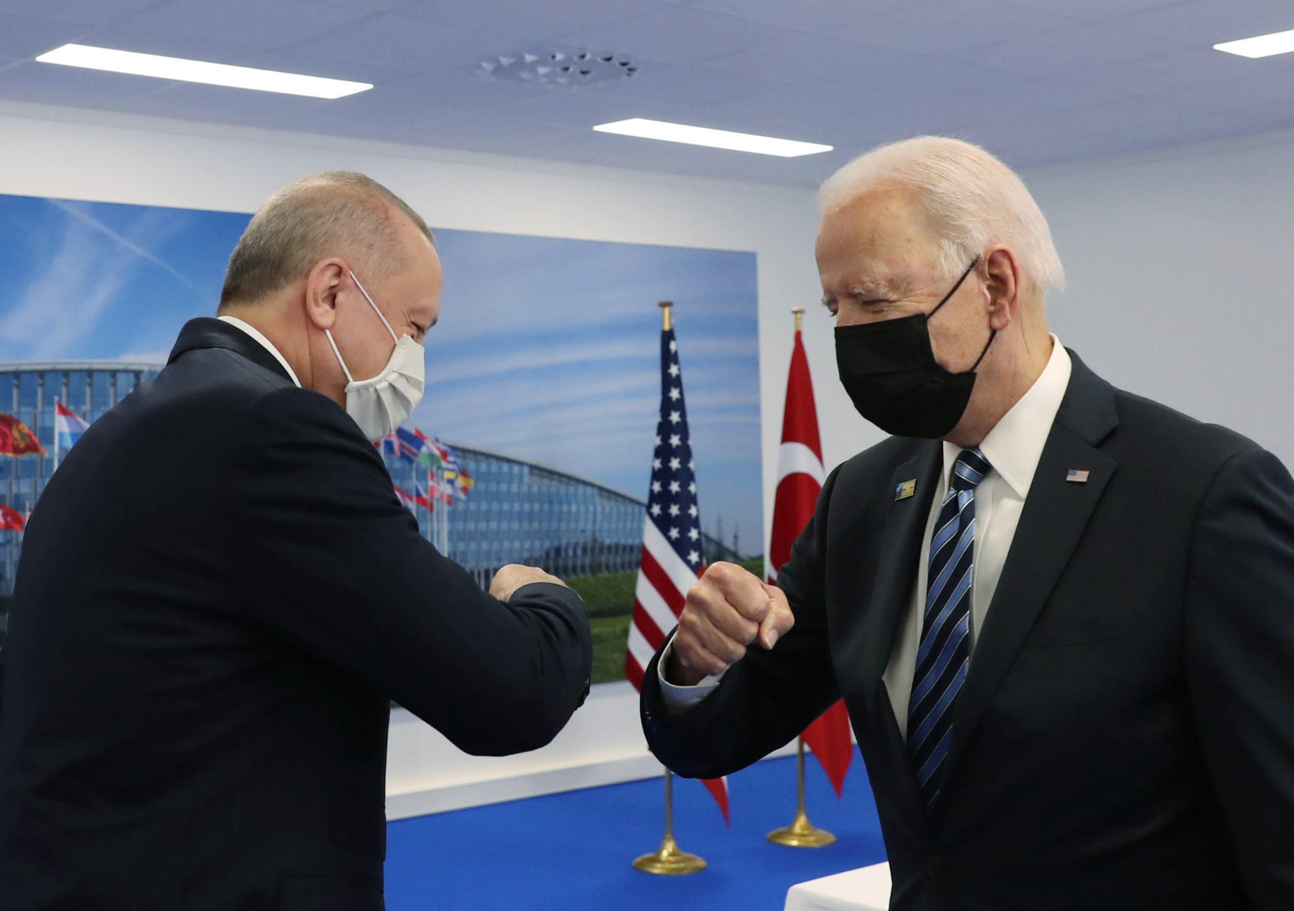 Erdogan mantiene su posición sobre el acuerdo de misiles rusos después de reunirse con Biden