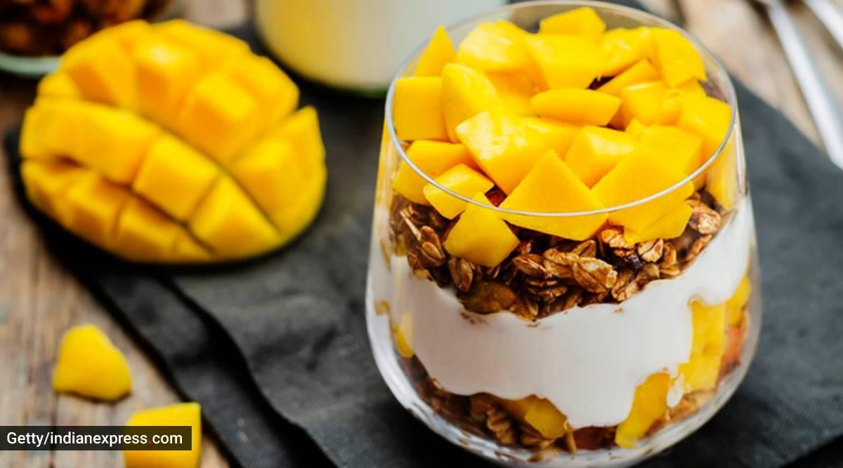 mango recipes, mango recipes for summer, healthy dessert recipes with mangoes, simple mango dessert recipes, Yasmin Karachiwala mango recipe, indian express news
