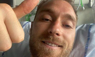 Christian Eriksen ha sido dado de alta del hospital después de que le pusieran un arrancador de corazón