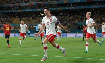 Euro 2020: Lewandowski da a Polonia el empate 1-1 contra España