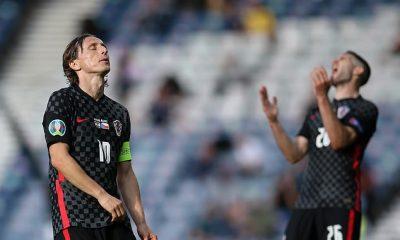 Luka Modric admite que Croacia debe mejorar o corre el riesgo de ser expulsado de la Eurocopa
