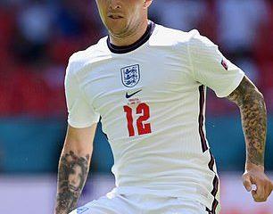 Kieran Trippier fue una elección sorpresa como lateral izquierdo para Inglaterra contra Croacia