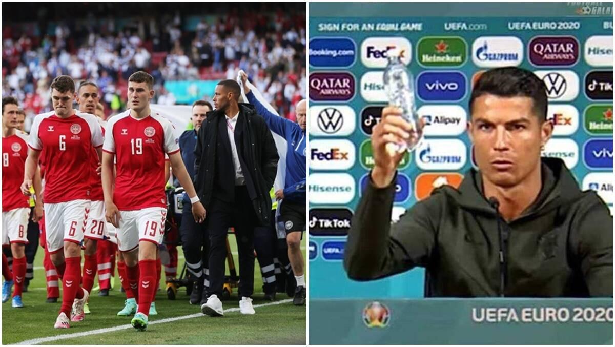 Euro 2020: el susto de Eriksen, el presser de Ronaldo emergen como puntos de conversación en la fase de grupos