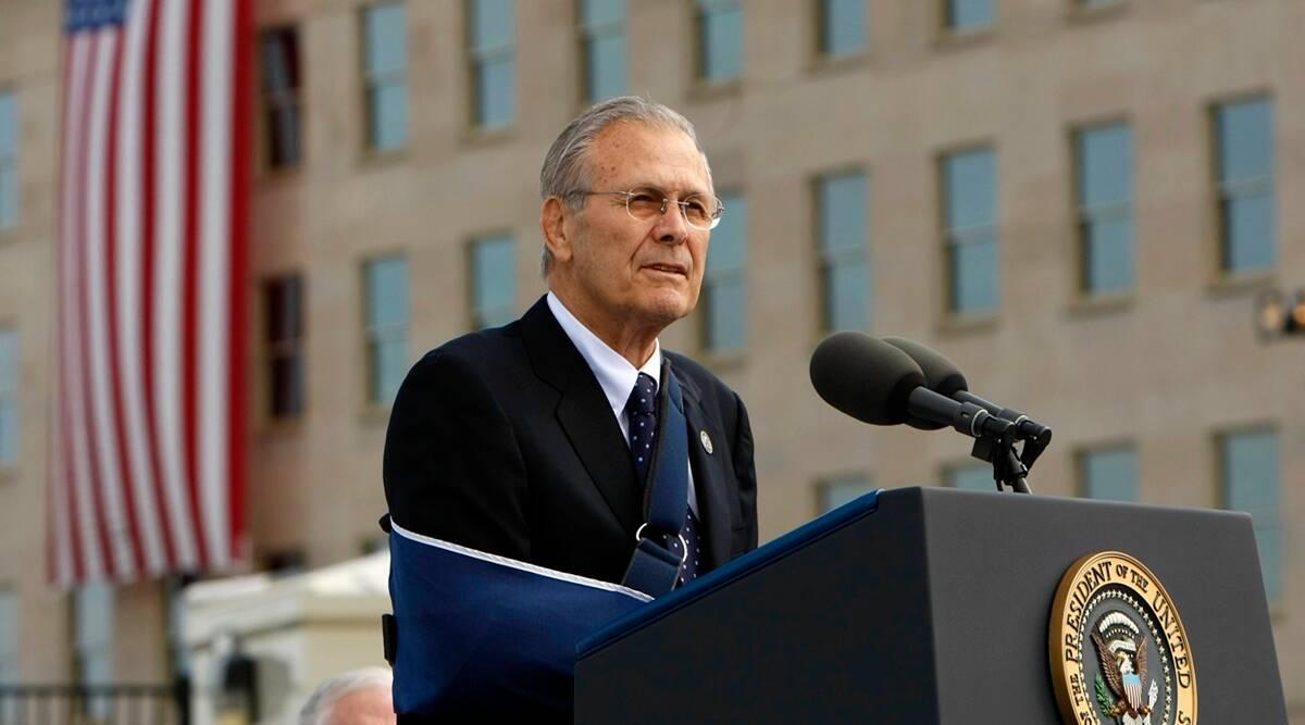 Fallece el exsecretario de Defensa de Estados Unidos, Donald Rumsfeld, a los 88 años