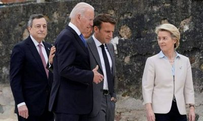 Fuente del G7 elogia a Joe Biden después del 'caos total' de Trump